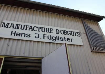 Manufacture d'orgues Füglister