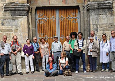Devant la cathédrale de Sion