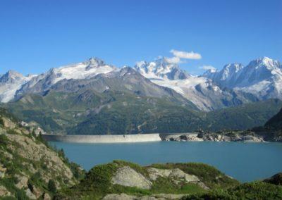 Barrage d'Emosson et panorama