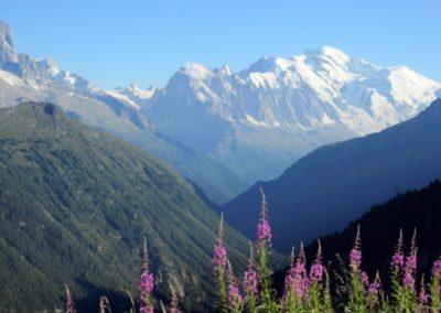 Mont-Blanc vu d'Emosson
